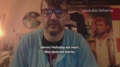 """VIDEO. Mort de Johnny Hallyday : les internautes rendent hommage à """"l'idole des jeunes"""""""