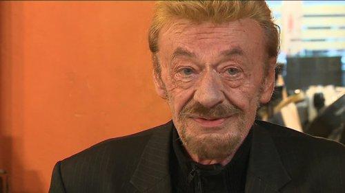 """VIDEO. """"C'est comme un coup de massue"""", confie Philippe Clabaut, sosie de Johnny Hallyday"""
