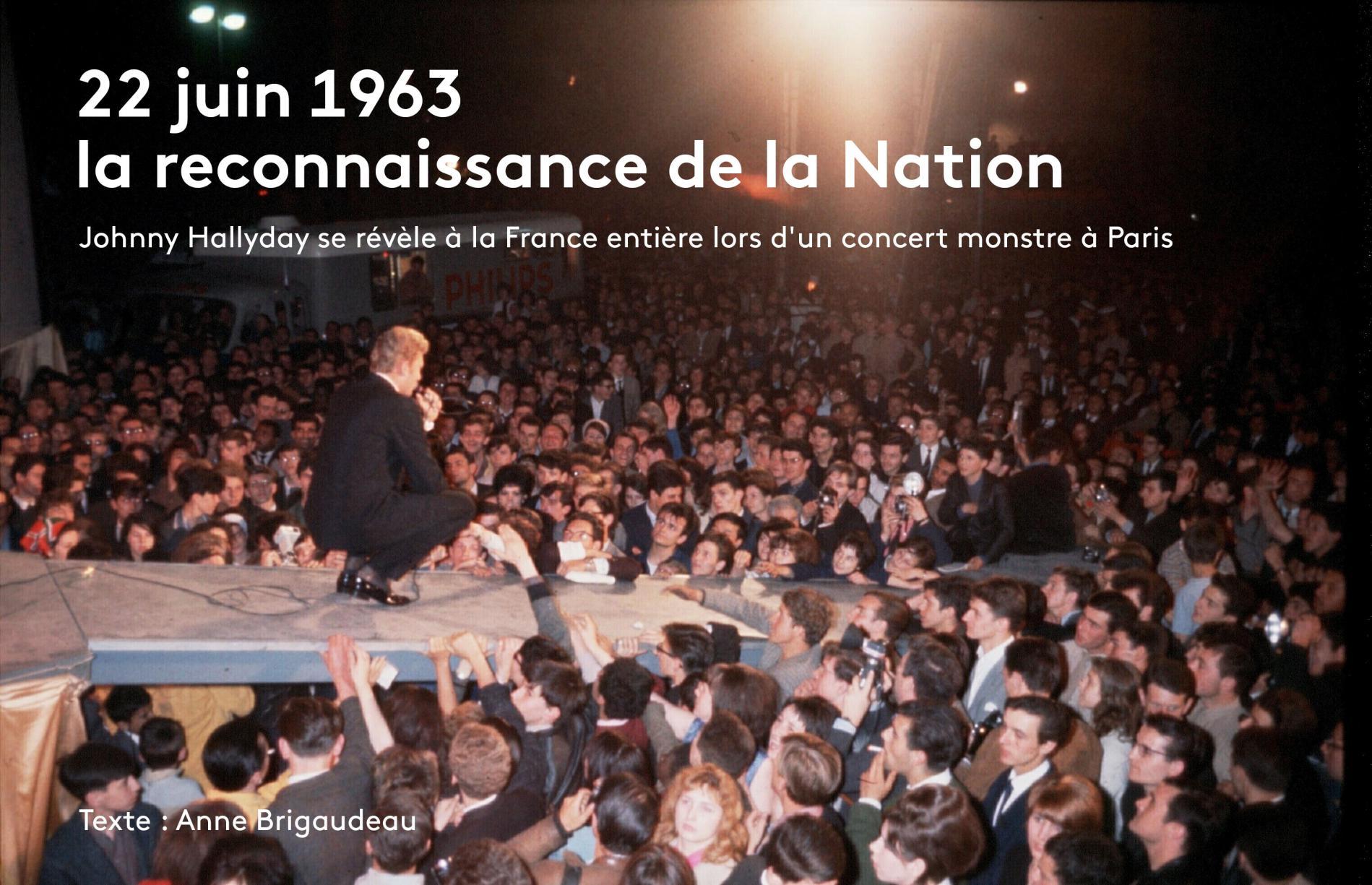 """Résultat de recherche d'images pour """"concert salut les copains 1963"""""""