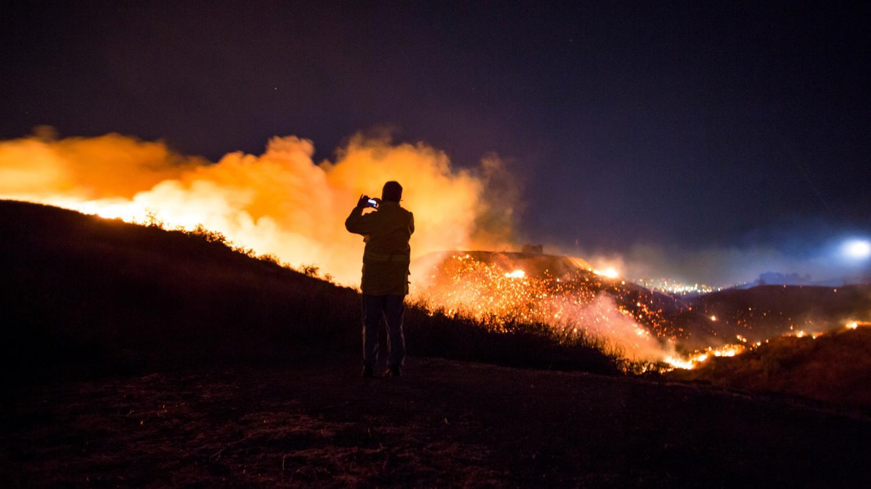 En images etats unis les beaux quartiers de los angeles for Airess incendie