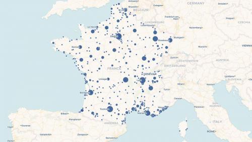 CARTE. De Villeneuve-sur-Lot à la tour Eiffel, soixante ans de concerts de Johnny Hallyday dans (presque) toute la France