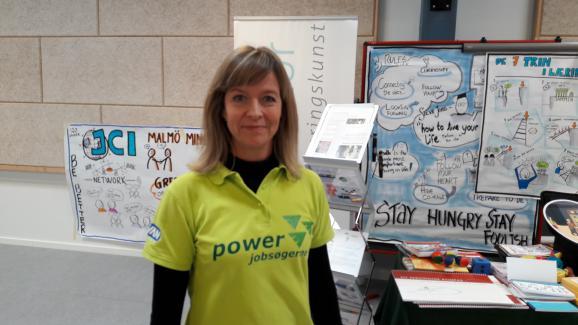 Malene Gregaard Wilslys a créé cette association pour aider les chômeurs à ne pas baisser les bras