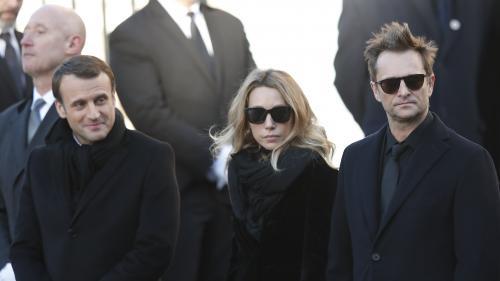 """VIDEO. """"C'était plus qu'un chanteur, c'était la vie"""" : revivez le vibrant hommage d'Emmanuel Macron à Johnny Hallyday"""