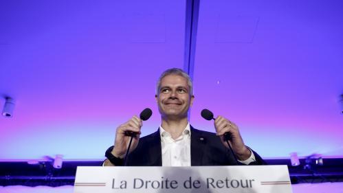 DIRECT. Laurent Wauquiez largement élu président des Républicains, malgré une faible participation