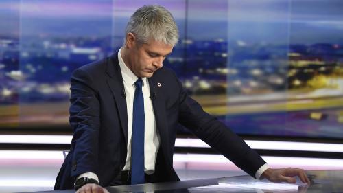 """""""Ce n'est pas acceptable de claquer la porte de sa famille politique dans ces conditions"""", réagit Wauquiez au départ de Bertrand de LR"""