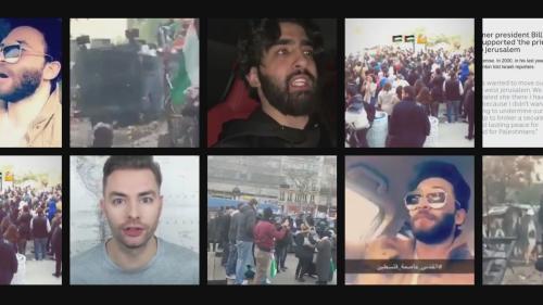 VIDEO. Jérusalem reconnue capitale d'Israël par Trump : une semaine après, la division vue des réseaux sociaux