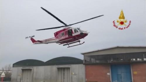 VIDEO. Italie : des inondations provoquent l'évacuation de plus de 1 000 habitants