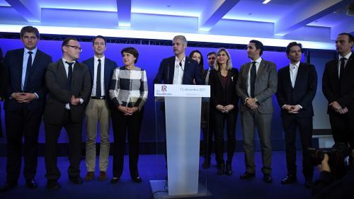 Les Républicains : trois jours après son élection, Laurent Wauquiez présente son état-major
