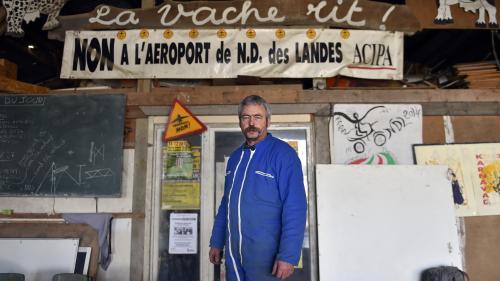 """Notre-Dame-des-Landes : """"On a un peu d'espoir"""" témoigne un paysan opposé au projet d'aéroport, avant la remise du rapport"""