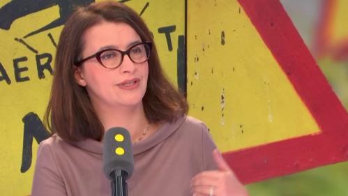 """VIDEO. Cécile Duflot assure que François Hollande est contre Notre-Dame-des-Landes : """"Il ne l'a jamais dit publiquement, il me l'a dit à moi"""""""