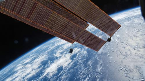 """Le dernier """"Star Wars"""" va être diffusé à bord de la Station spatiale internationale"""
