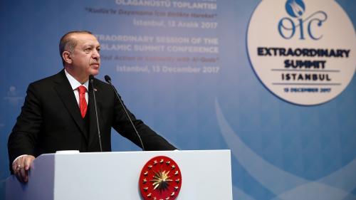 """Décision de Trump sur Jérusalem : Erdogan appelle à reconnaître la ville comme """"capitale de la Palestine"""""""