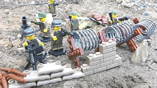 Des figurines Lego détournées en nazis vendues sur la version allemande d'Amazon