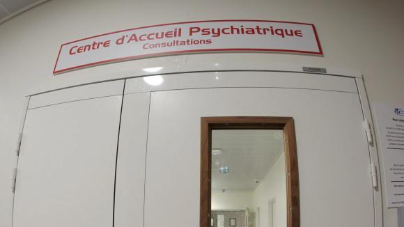 Service d\'accueil psychiatrique de l\'hôpital de Nice.