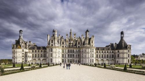 Emmanuel Macron fête ses 40 ans au château de Chambord
