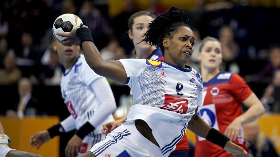 Direct finale du mondial de handball les bleues m nent 11 10 contre la norv ge la mi temps - Finale coupe du monde handball ...