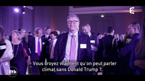 VIDEO. Dans les coulisses du Sommet sur le climat de Paris avec Bill Gates, Nicolas Hulot, Arnold Schwarzenegger...