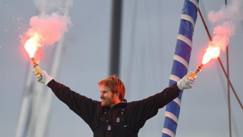 Voile : François Gabart pulvérise le record du tour du monde en solitaire en 42 jours et 16 heures