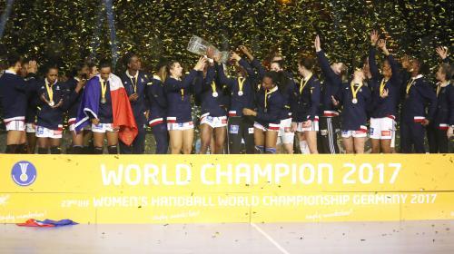 DIRECT. Handball : regardez la conférence de presse des Françaises après leur titre de championnes du monde