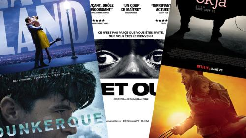 Les cinq films qui nous ont marqués en 2017
