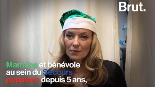 nouvel ordre mondial | «Tout le monde a le droit à un Noël» : Valérie Trierweiler, engagée auprès des Pères Noël verts
