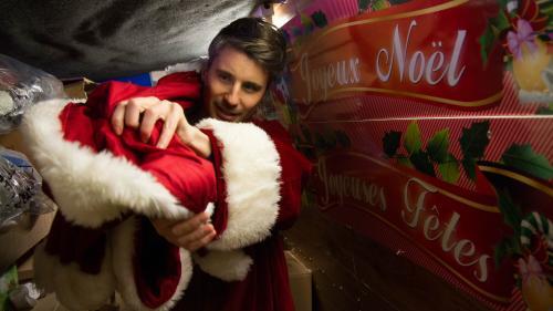 GRAND FORMAT. Cris, postillons, sourires forcés... Je me suis glissé dans la peau du père Noël (et ce n'est pas un cadeau)