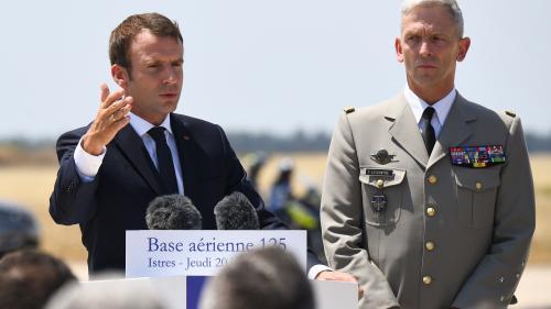 DIRECT. Regardez le discours d'Emmanuel Macron devant les militaires français engagés au Sahel