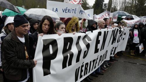 VIDÉO. Une marche blanche, quatre mois après la disparition de Maëlys