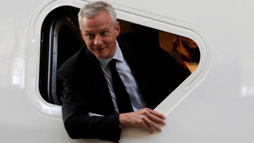 """Budget 2018 : """"Cela va nous permettre de donner un nouvel élan"""", assure Bruno Le Maire"""