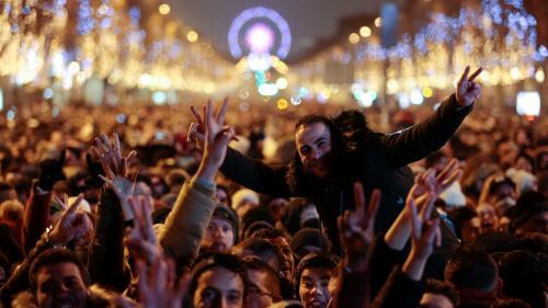 La nuit du Nouvel An, la sécurité sera assurée par près de 140000policiers, gendarmes, militaires et pompiers