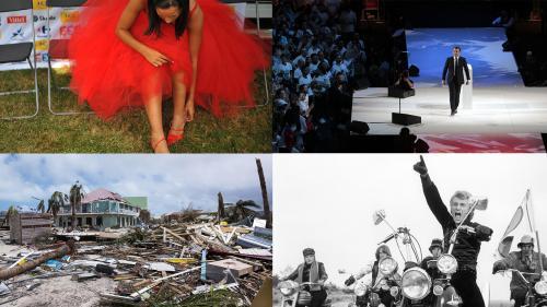Affaire Weinstein, ouragan Irma, mort de Johnny... Revivez l'année 2017 en grand format