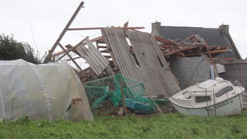 Finistère : un homme grièvement blessé à cause des fortes rafales de vent