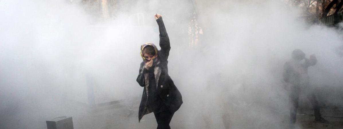 """Contre Révolution"" en Iran  14044763"