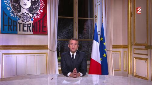 VIDEOS. Ce qu'il faut retenir des premiers vœux aux Français d'Emmanuel Macron