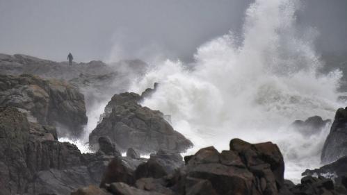 EN IMAGES. La tempête Carmen vue par les internautes