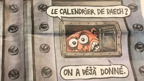 """""""Trois ans dans une boîte de conserve"""" : découvrez la une de """"Charlie Hebdo"""", trois ans après les attentats"""