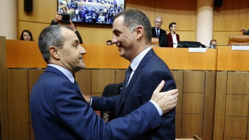 Le nationaliste Jean-Guy Talamoni et l'autonomiste Gilles Simeoni prennent la tête de l'Assemblée de Corse