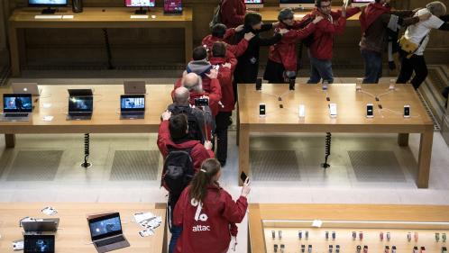Apple attaque en justice Attac et veut interdire les militants de l'association altermondialiste dans ses magasins