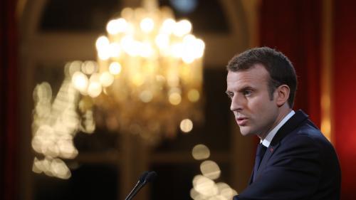 Ce qu'il faut retenir des vœux à la presse d'Emmanuel Macron