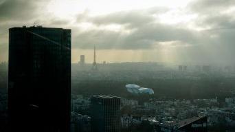 Des rafales à 150 km/h au troisième étage de la tour Eiffel
