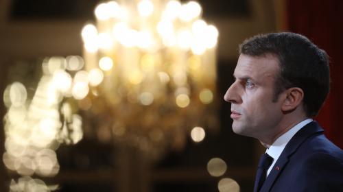"""Vœux d'Emmanuel Macron: la loi contre les fake news """"en terme idéologique semble irréalisable"""", selon La Quadrature du Net"""