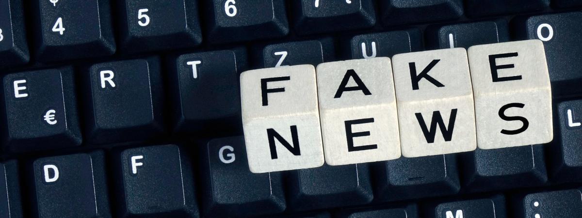 """Emmanuel Macron souhaite proposer un texte pour lutter contre \""""les fausses informations\""""."""