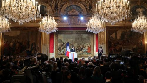 Champigny, circulaire Collomb, Corse: ce que Macron a confié en marge de ses vœux à la presse