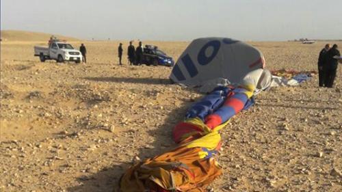 nouvel ordre mondial | Egypte : une montgolfière s'écrase à Louxor et tue un touriste