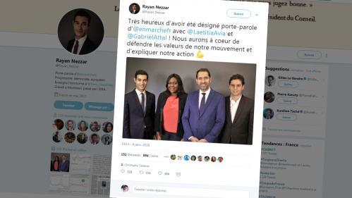 Le nouveau porte-parole de LREM s'excuse après ses tweets insultants datant de 2013