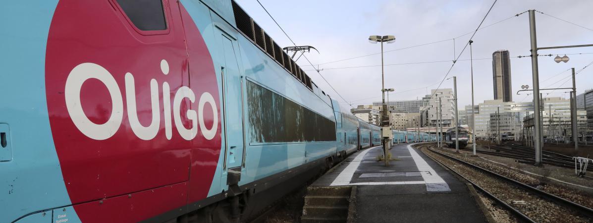 Le Ouigo, le TGV low-cost de la SNCF.