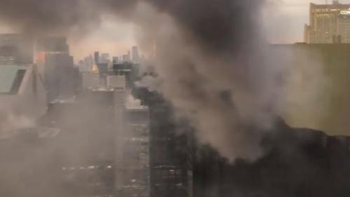 VIDEO. New York : un incendie dans la Trump Tower fait un blessé grave