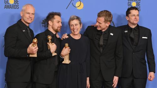 "Golden Globes : ""3 Billboards"" et ""Lady Bird"" sacrés meilleurs films"