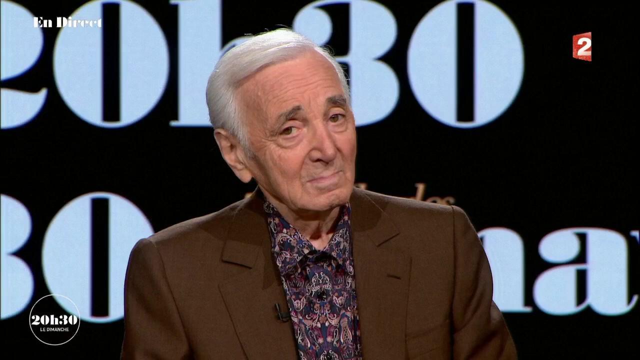 video pour charles aznavour on pourrait faire un tri entre les migrants pour garder les. Black Bedroom Furniture Sets. Home Design Ideas