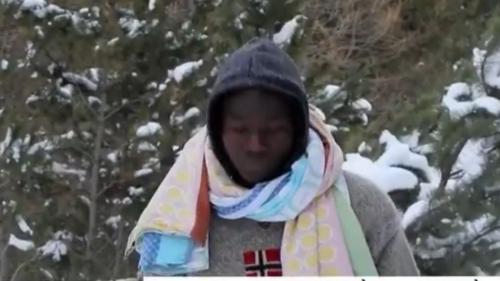 DOCUMENT FRANCE 2. Entre l'Italie et la France, avec les migrants qui passent le col de l'Echelle en plein hiver